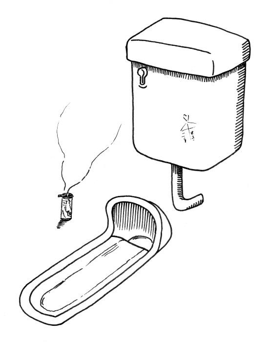 トイレとタバコ